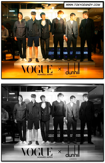 VOGUE HOMMES JAPAN × dunhill