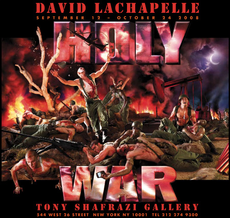 """HOLY WAR"" – by David Lachapelle"