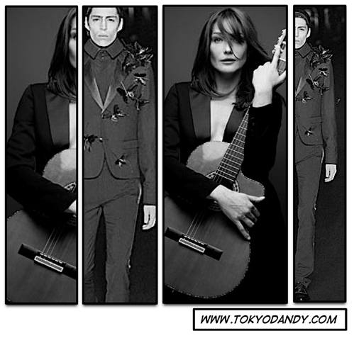carla bruni dior homme Dior Homme for Women 08/09 A/W Collection