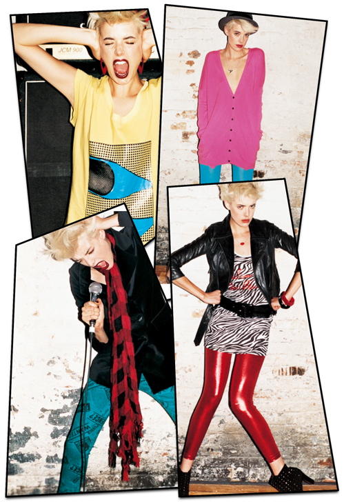 Agyness Deyn by Terry Richardson for Moussy