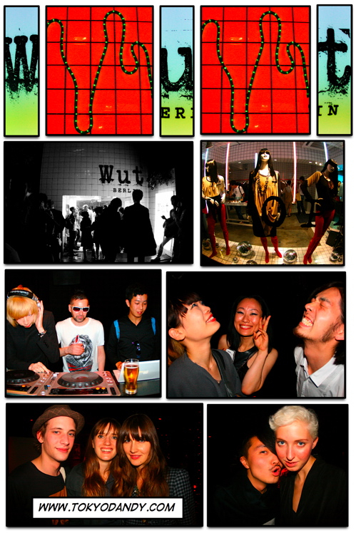 Wut BERLIN Opening Party