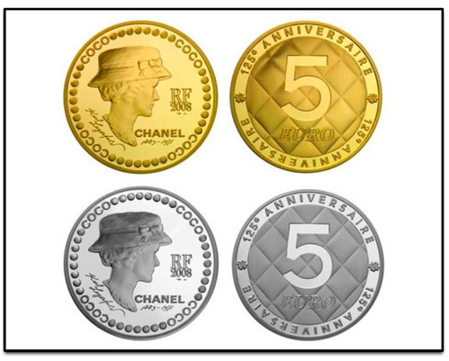 CHANEL 125th Anniversary Coin