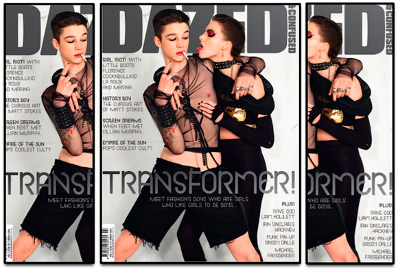 DAZED & CONFUSED MARCH '09 – TRANSFORMER !!!