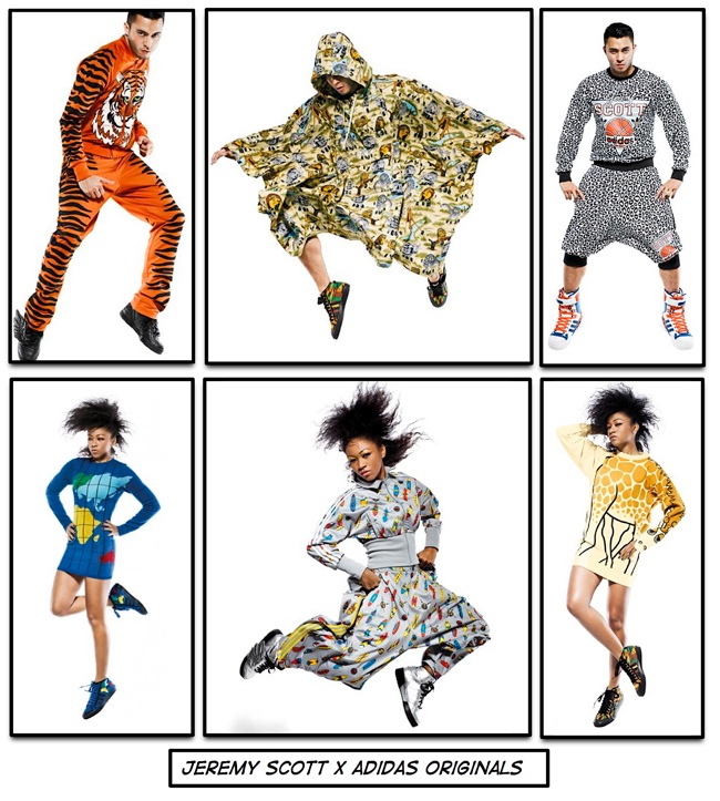 Jeremy Scott Fall/09 Collaborations