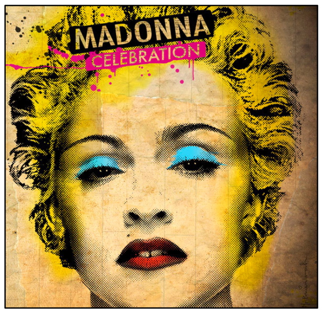 MADONNA 'CELEBRATION' Greatest Hits Collection