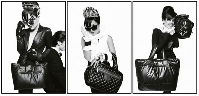 LILY ALLEN FOR CHANEL HANDBAGS F/W 2009
