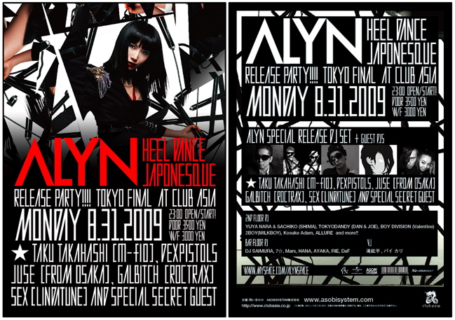 ALYN LIVE TOUR FINAL in club asia