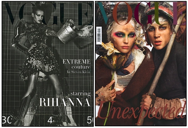 Which do you prefer for Vogue Italia September 2009?