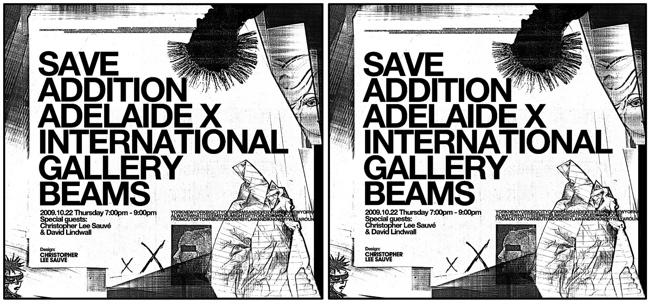SAVE ADDITION ADELAIDE × INTERNATIONAL GALLERY BEAMS