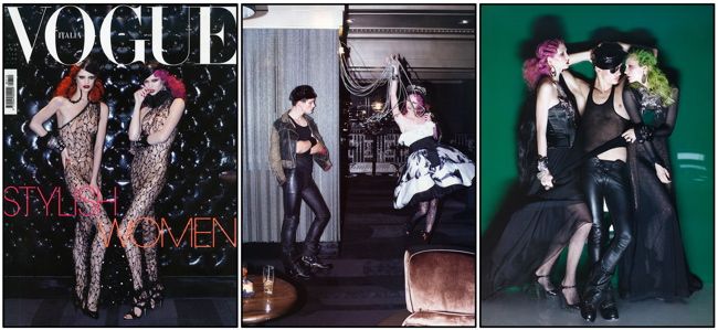 VOGUE ITALIA by STEVEN MEISEL VOGUE ITALIA by STEVEN MEISEL