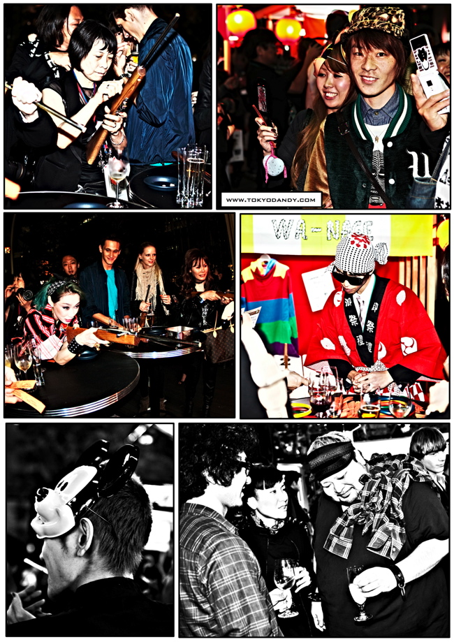 Verbal Presents japan fashion week opening party 6