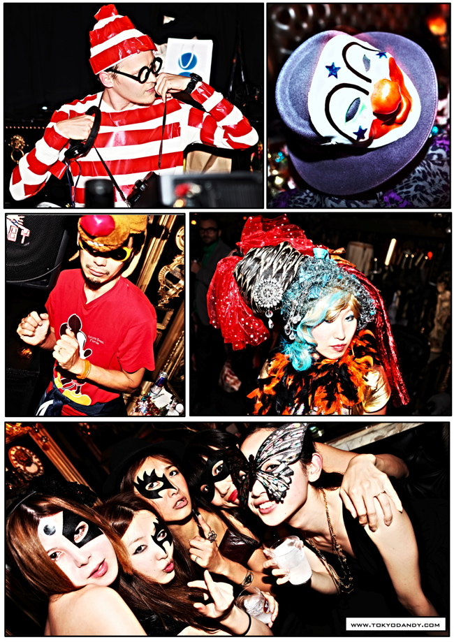halloween 02 Colette Paris HALLOWEEN TOKYO TAKEOVER party at Trump Room Shibuya