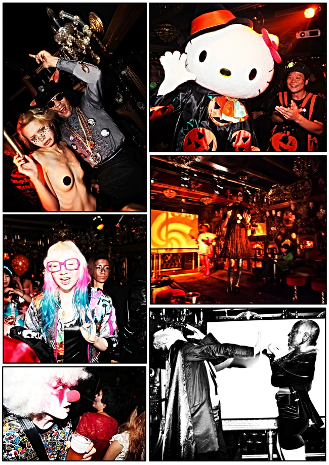 halloween 12 Colette Paris HALLOWEEN TOKYO TAKEOVER party at Trump Room Shibuya