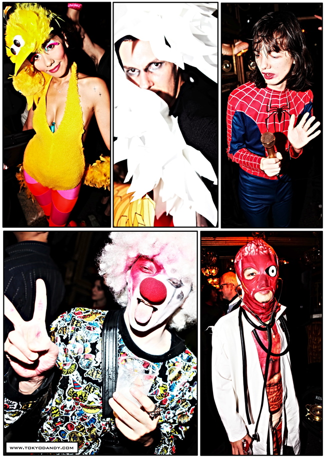 halloween 13 Colette Paris HALLOWEEN TOKYO TAKEOVER party at Trump Room Shibuya