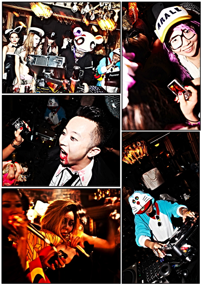 halloween 14 Colette Paris HALLOWEEN TOKYO TAKEOVER party at Trump Room Shibuya