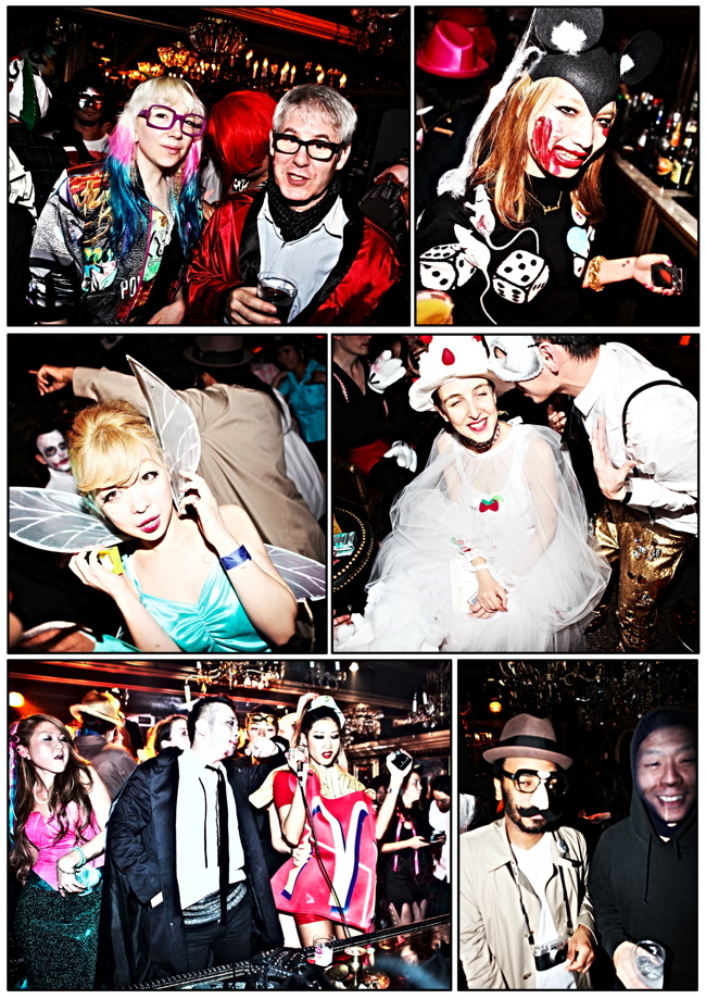 halloween 15 Colette Paris HALLOWEEN TOKYO TAKEOVER party at Trump Room Shibuya