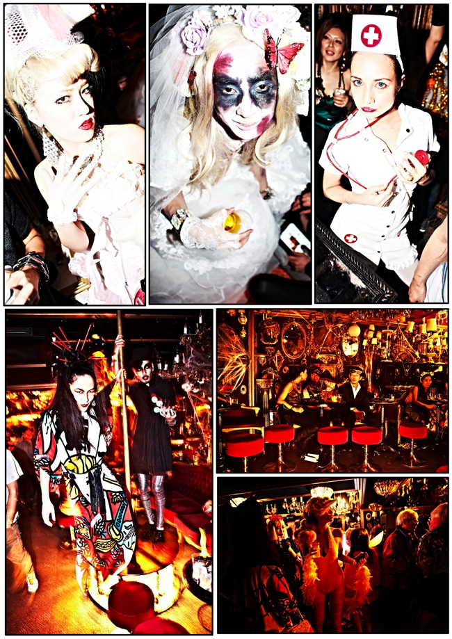halloween 16 Colette Paris HALLOWEEN TOKYO TAKEOVER party at Trump Room Shibuya