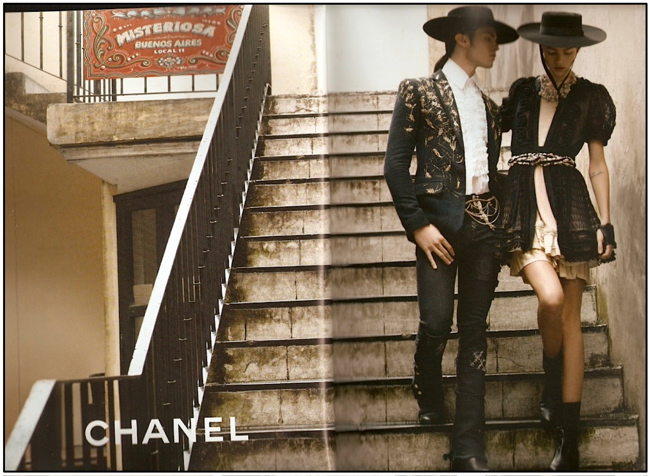 Chanel S/S 2010 by Karl Lagerfeld