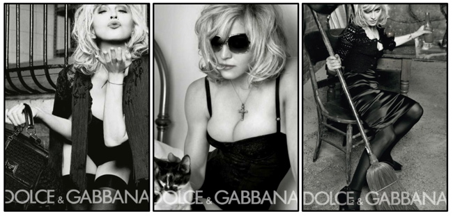 More Madonna for Dolce & Gabbana…..
