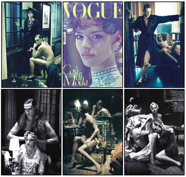 Steven Meisel & Steven Klein for VOGUE ITALIA