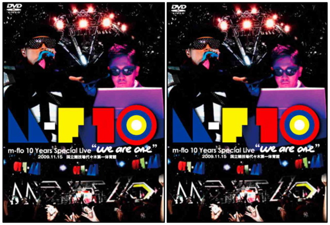"「m-flo 10 Years Special Live ""we are one""」DVD on sale today."