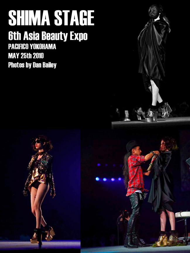 SHIMA STAGE @ The 6th Asia Beauty Expo. Yokohama
