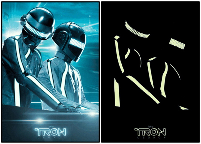 Untitled 18 DAFT PUNK DEREZZED for TRON LEGACY