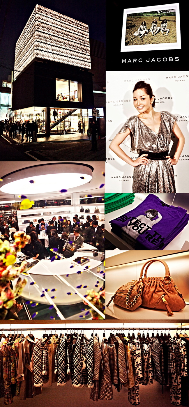 Marc Jacobs Aoyama Store Opening