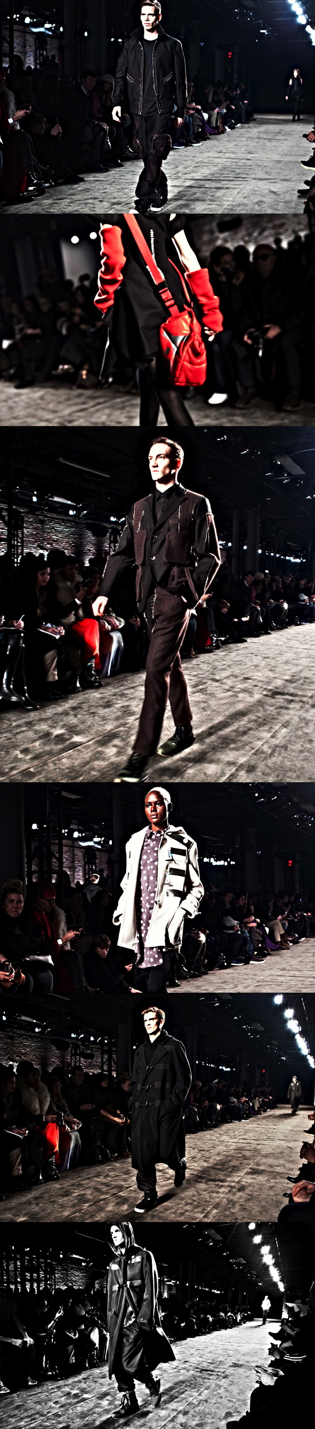 Y-3 Fall/Winter 2011/'12 New York Fashion Week