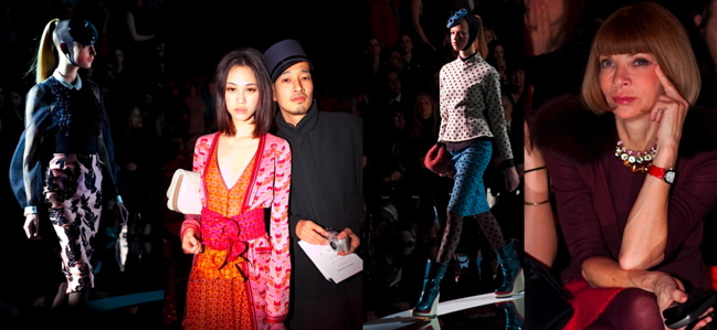 Tokyo Dandy at Marc Jacobs F/W 2011'12 – PHOTOS COMING SOON.