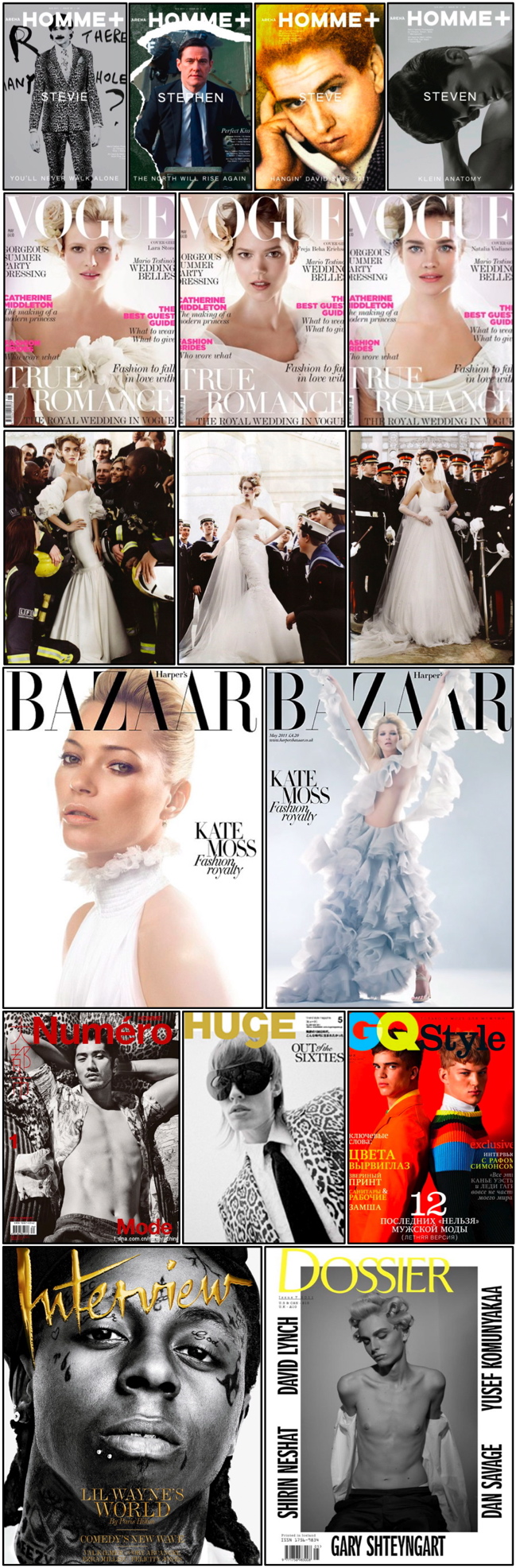 Magazine Covers Spring 2011