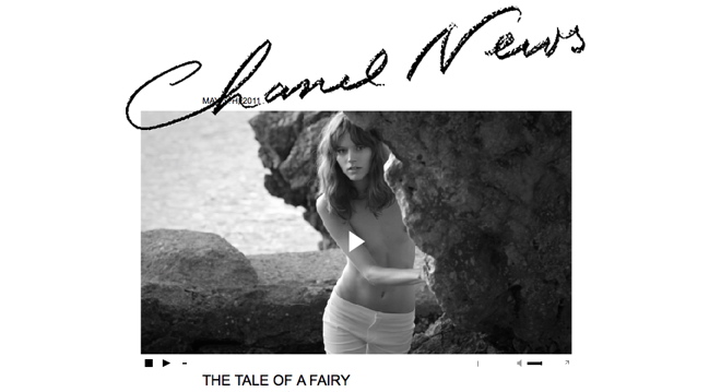 'THE TALE OF A FAIRY' BY KARL LAGERFELD