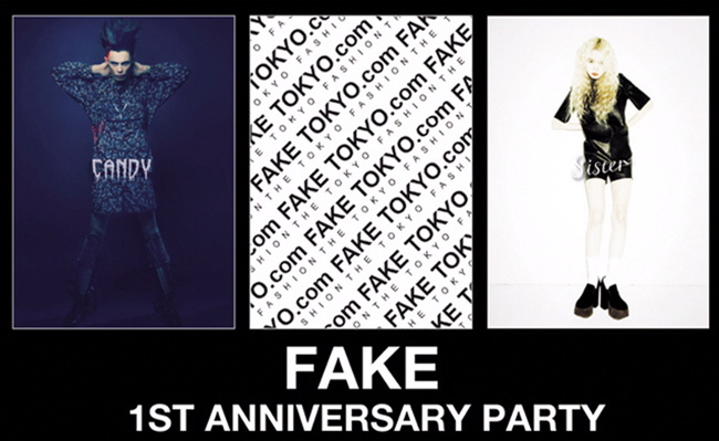 FAKE TOKYO 1ST ANNIVERSARY PARTY