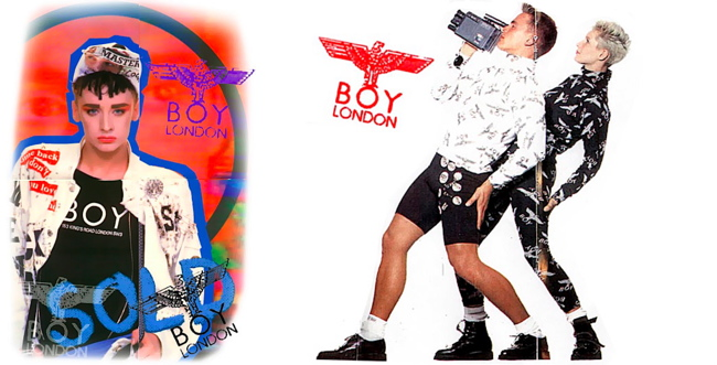 boy london BOY LONDON x LONGCLOTHING by Teddy Fitzhugh at CANDY