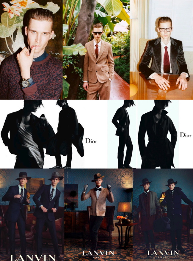 Marc Jacobs, DIOR HOMME & LANVIN A-W '11 Menswear Campaigns