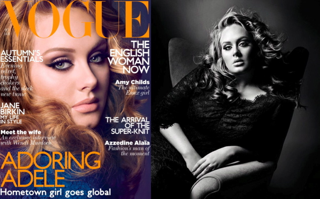 Adele VOGUE  ADELE for British Vogue + Interview & Live Performance