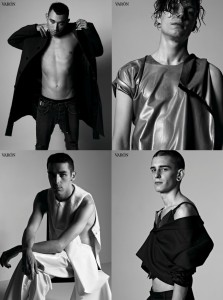 Nicola Formichetti styles himself and team at Mugler