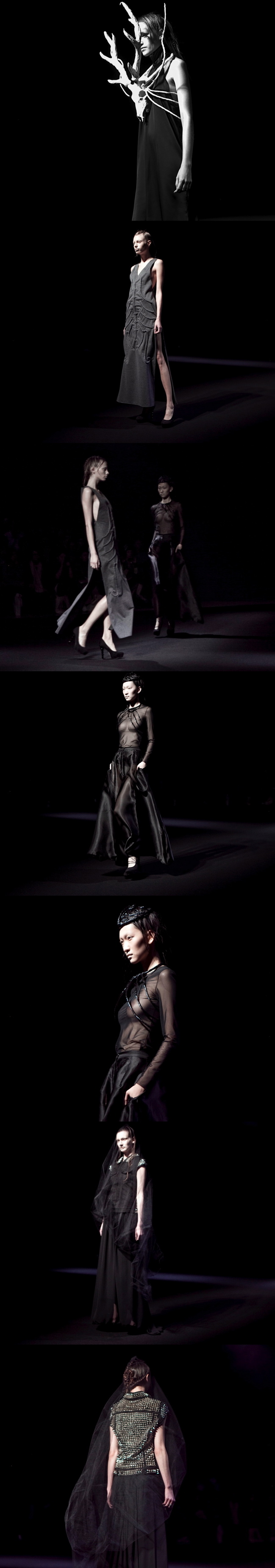 CHRISTIAN DADA at Mercedes Benz Fasion Week in Tokyo