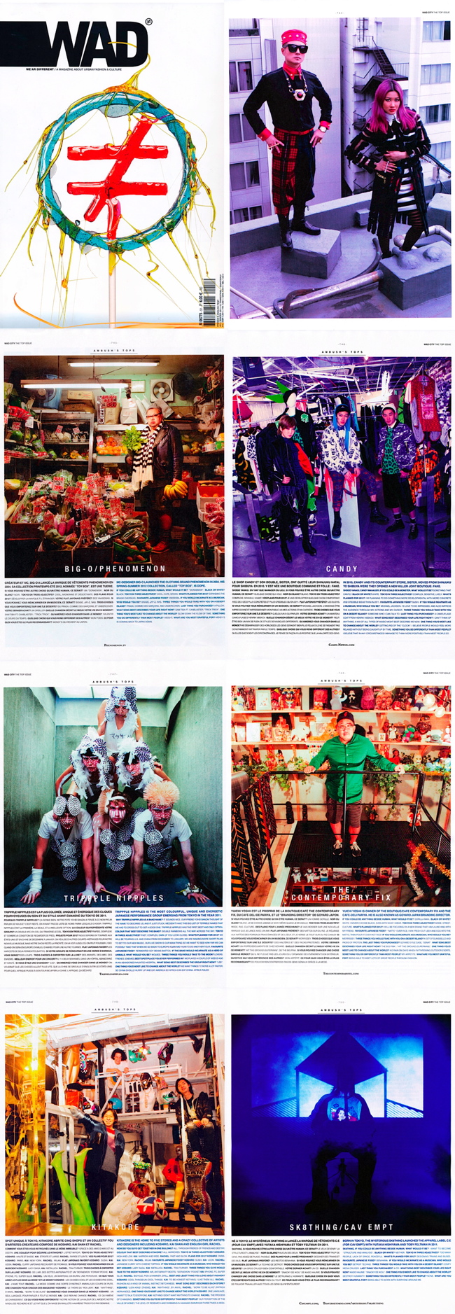 WAD (We Are Different) MAGAZINE #51