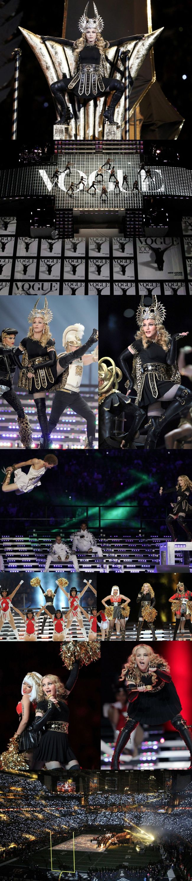 MADONNA'S SUPER BOWL PERFORMANCE
