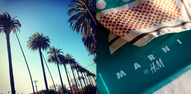 MARNI at H&M Launch in Los Angles