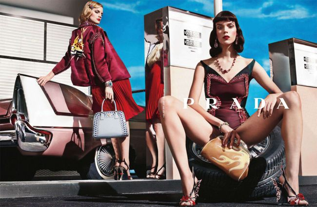 PRADA SS 2012 1 PRADA S/S 2012 Campaign Video
