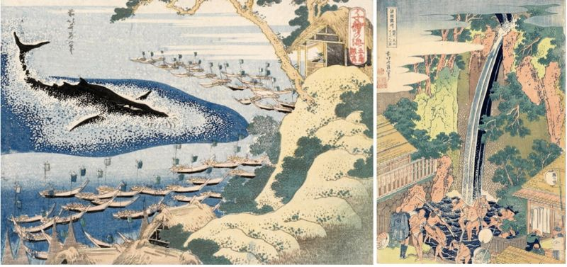 THE 250TH ANNIVERSARY OF HOKUSAI'S BIRTH EXHIBITION