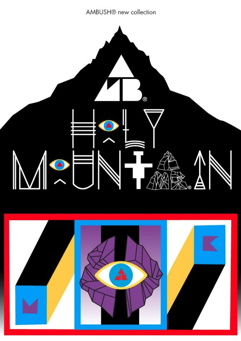 ambush top 1 AMBUSH® NEW COLLECTION HOLY MOUNTAIN