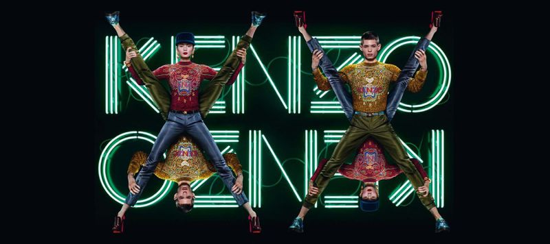 Jean Paul Goude KENZO 1 KENZO FALL 2012 BY JEAN PAUL GOUDE