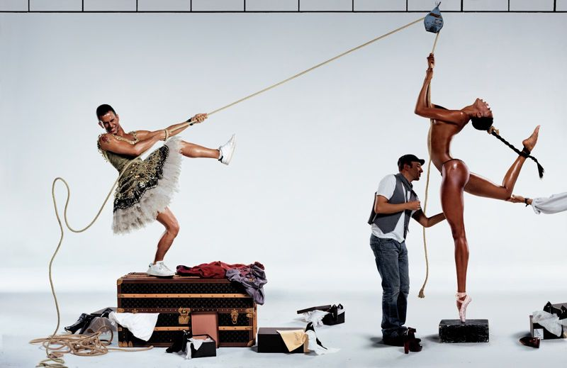 Jean Paul Goude KENZO 3 KENZO FALL 2012 BY JEAN PAUL GOUDE
