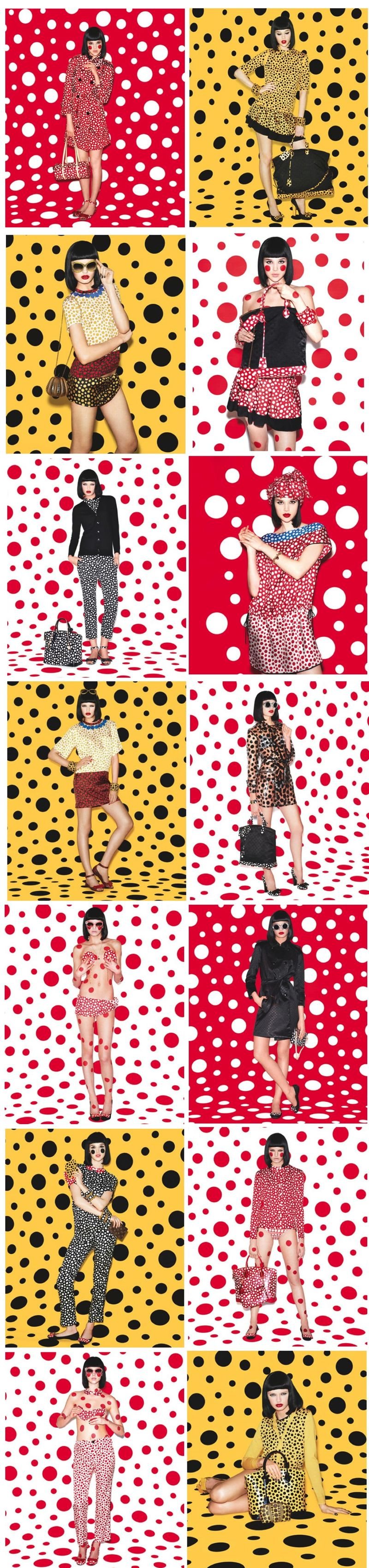 Yayoi Kusama for Louis Vuitton  YAYOI KUSAMA FOR LOUIS VUITTON INFINITELY KUSAMA