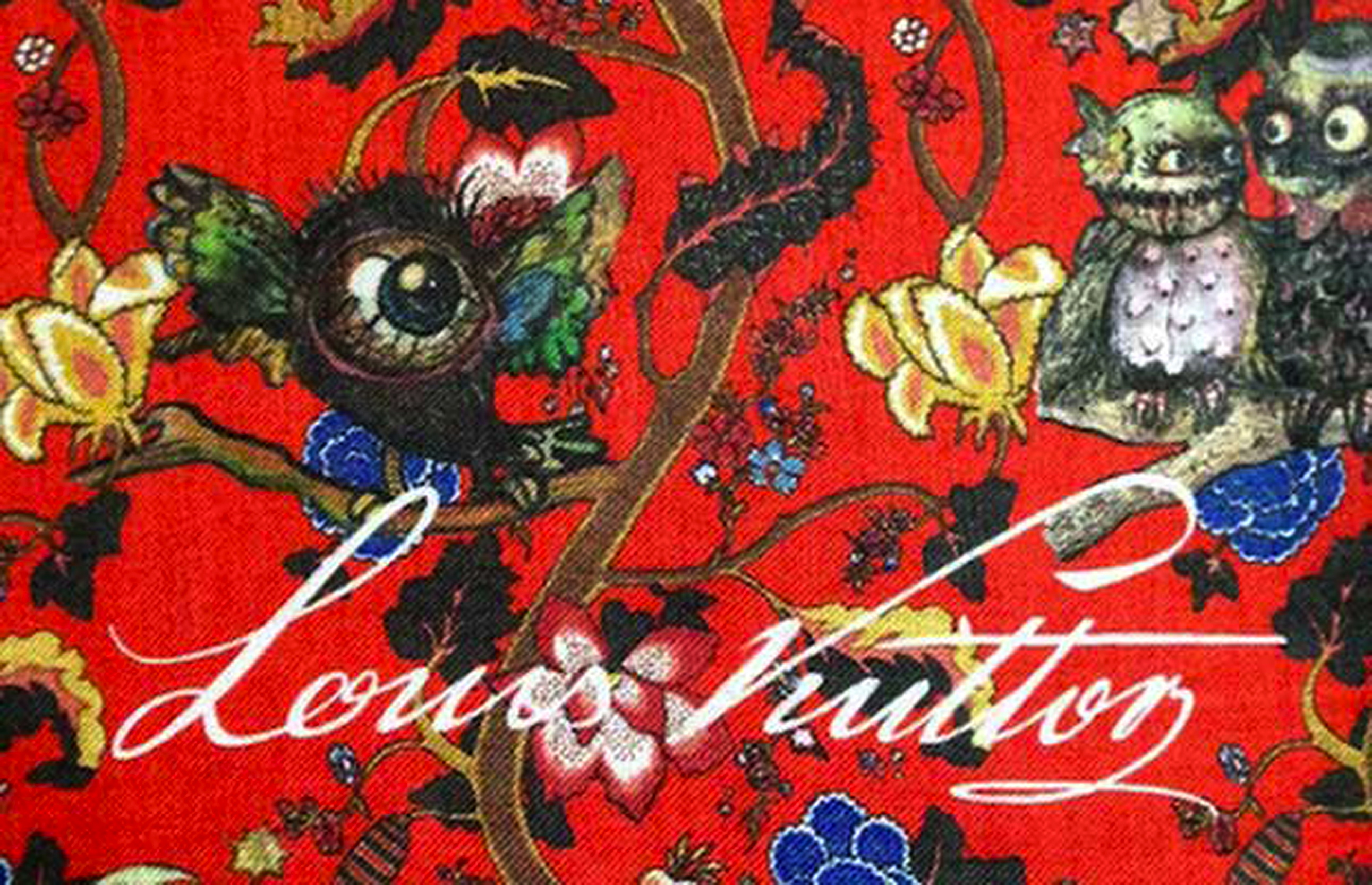 LOUIS VUITTON CHAPMAN BROTHERS PRINT1 LOUIS VUITTON MENSWEAR FALL 2013 PARIS