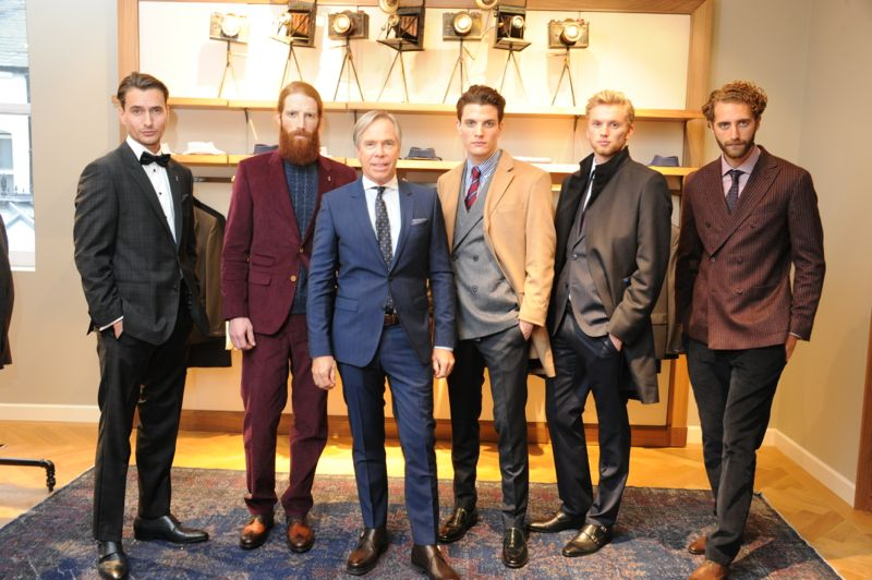 Tommy Hilfiger Esquire 7 TOMMY HILFIGER x ESQUIRE MAGAZINE LONDON COLLECTION MEN PARTY
