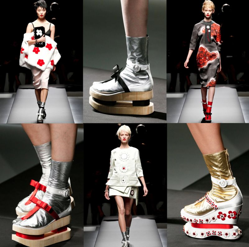 Japanese Infleunce trend spring 2013 prada THE JAPANESE INFLUENCE IN SPRING/SUMMER 2013 TRENDS